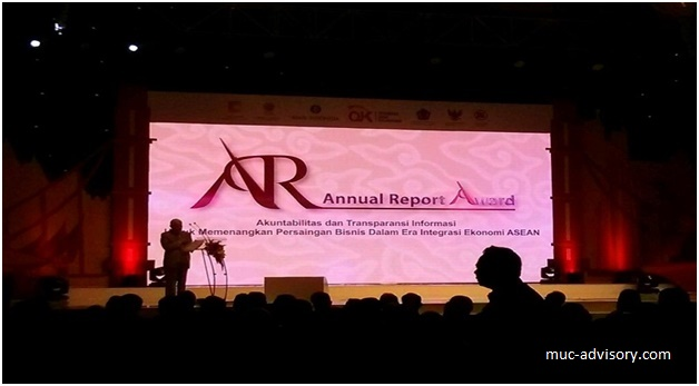 Annual Report Award 2014 MUC Consulting Group 021-78841036